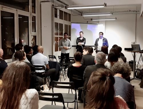NO BULLSHIT ZONE: les lauréats Tremplin rencontrent Taïg Khris, Elodie Hughes et Guillaume Gibault
